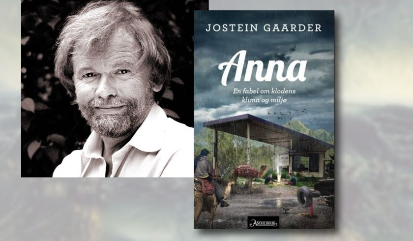 Jostein Gaarder and his new book about Anna