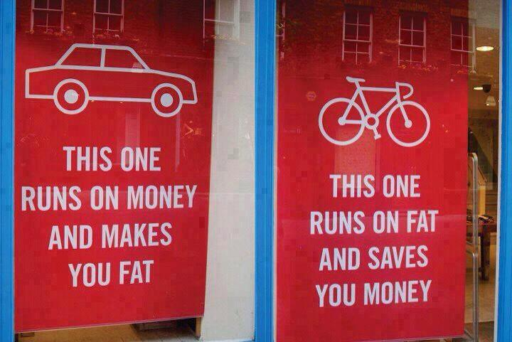 The real value of cycling (1/6)