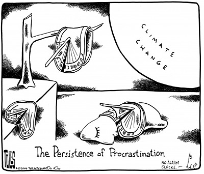 Cartoons about climate