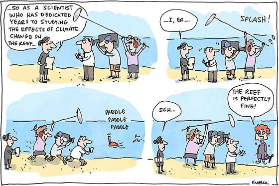Cartoon: Jon Kudelka
