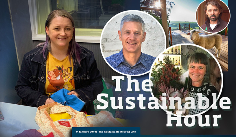 The Sustainable Hour no 248 on 94.7 The Pulse on 9 January 2018