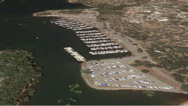 Folsom-Lake-USA-drought-before-after-1