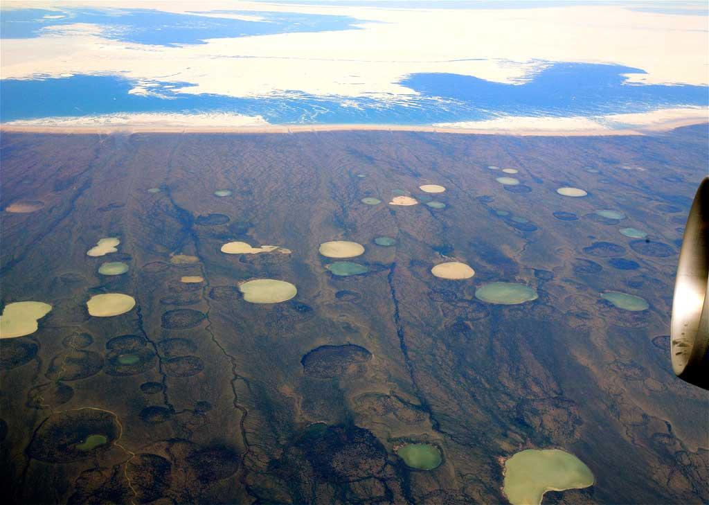 Hudson Bay, Canada, near Greenland.
