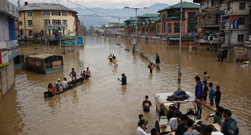 India Pakistan Flooding