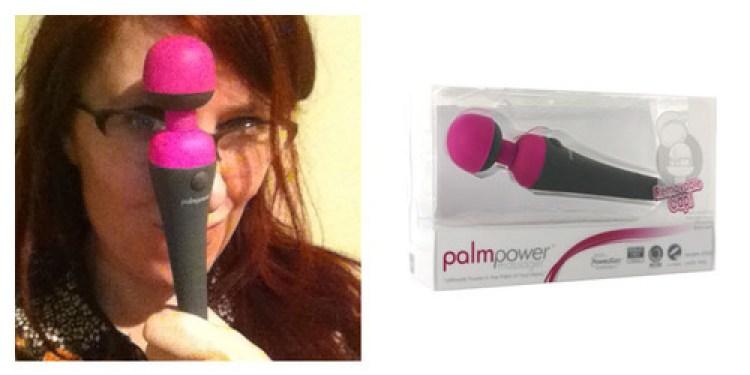 Dit is een afbeelding vande palmpower vibrator test