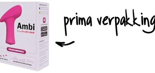 Dit is een afbeelding van verpakking lovense ambi