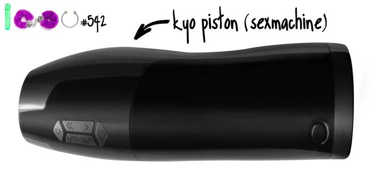 Dit is een afbeelding van kyo piston sexmachine