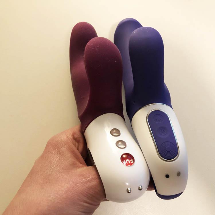 Dit is een afbeelding van satisfyer vibes vs fun factory vibrator review