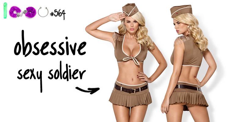 Dit is een afbeelding van sexy soldier uniform lingerie