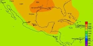 Amplia masa de aire frío con centro en Houston empuja aire frío a la región