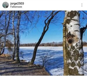 Falkensee, al oeste de Berlín Alemania. Hoy Foto: Instagram: jorge2503