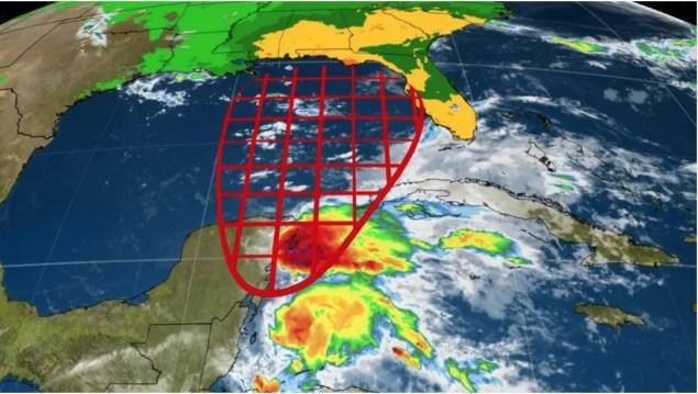 Area de posible desarrollo tropical o subtropical según NHC prox. 48h