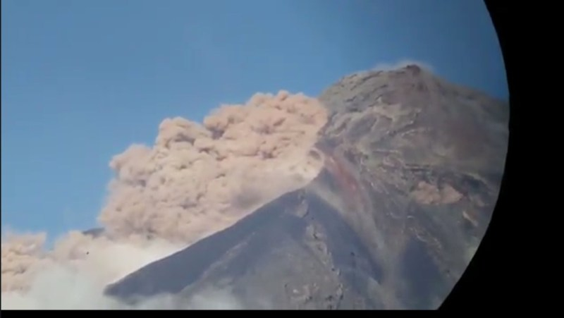 Video captado de la avalancha - INSIVUMEH
