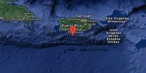 Sismo M6.1 a 28 km. de Muelle de Ponce, Ponce Puerto Rico Fecha: 2020-01-07 08:34:02 GMT Prof.: 10 km.