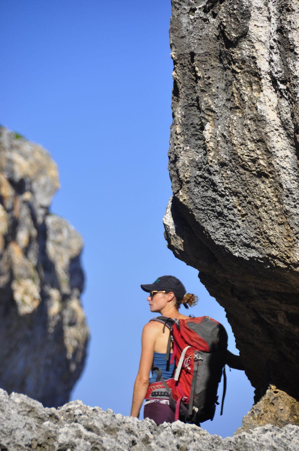Climbing Cayman Brac - Approach