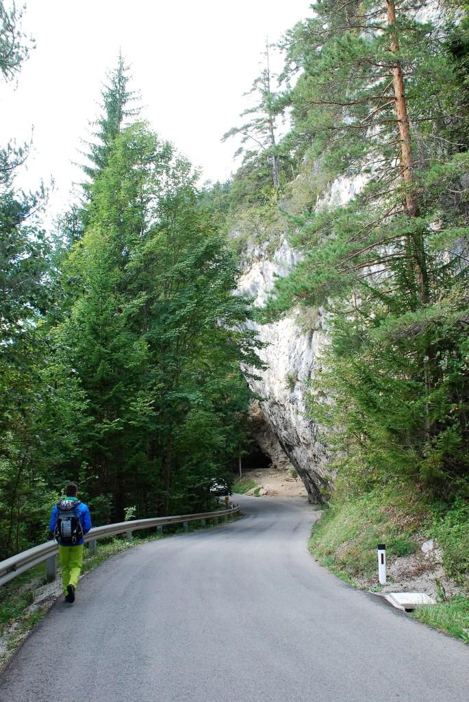 Wspinanie w Austrii - Adlitzgraben