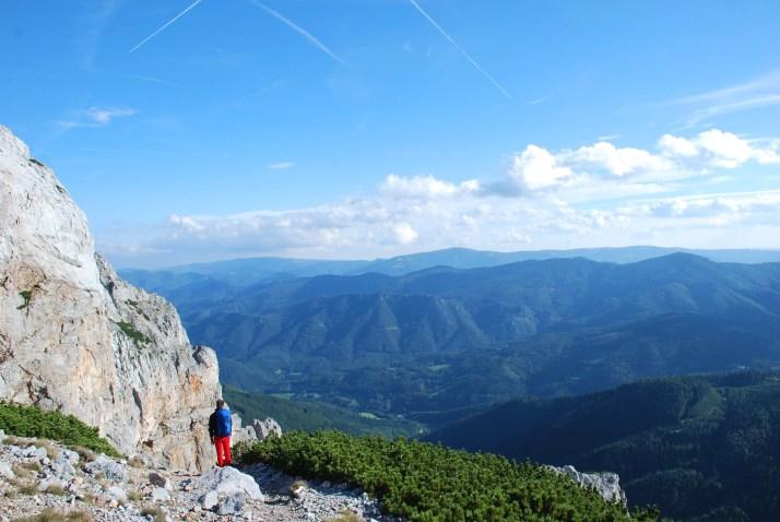 Preinerwand, Austria, Alpy, Masyw Rax-Schneeberg