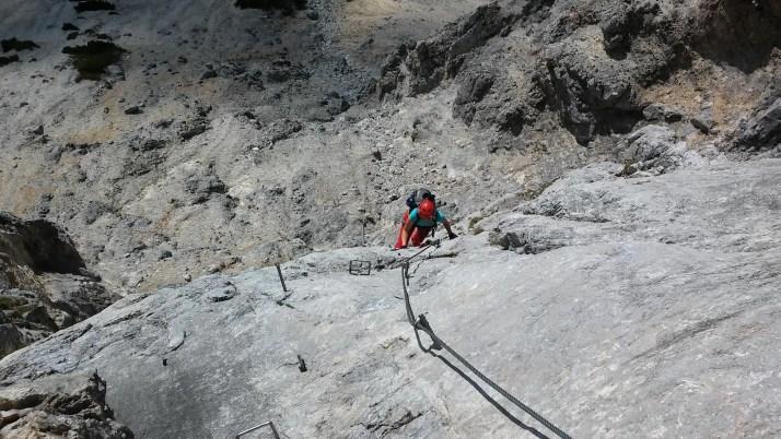 Via ferrata Hans von Heid Steig, Austria, Alpy