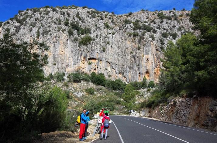 Mur Alcalali, dolina Xalo