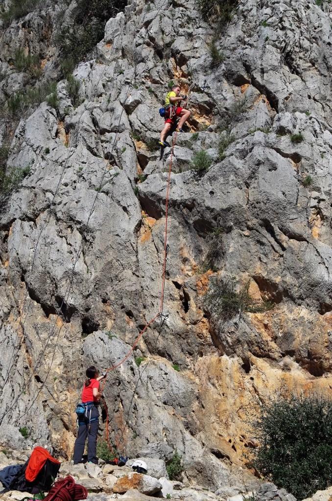 Wspinanie w Dolinie Xalo (Jalon), rejon Alcalali