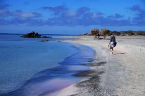 Spacer po plaży Elafonisi
