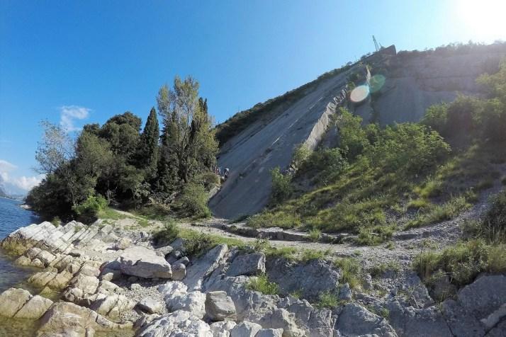 Rejon wspinaczkowy Corno do Bo, Garda
