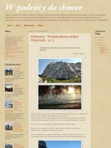 Blog wpodrozydochmur.blogspot.com