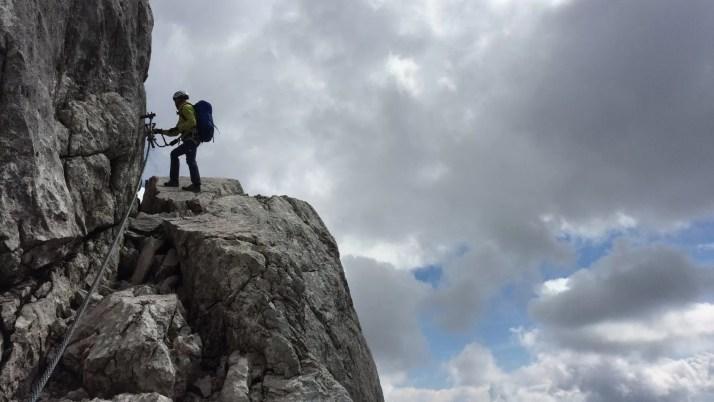 Masyw Dachstein skrywa kilkanaście ferrat dla prawdziwych śmiałkó