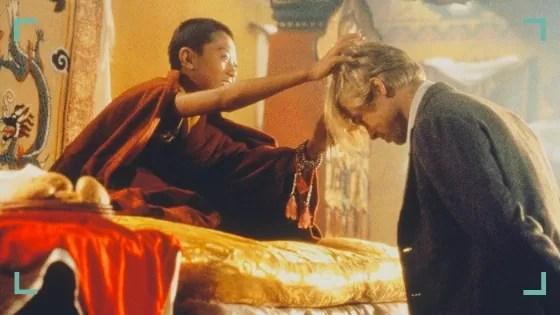 Scena z filmy 7 lat w Tybecie, zdjęcie: Telemagazyn