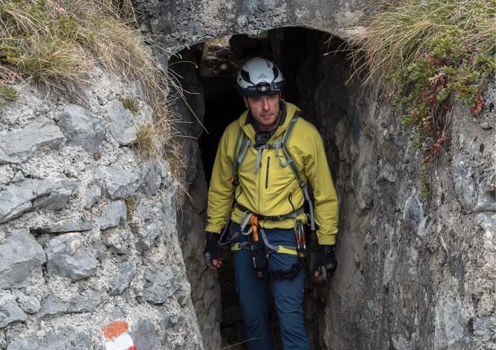 Urozmaicenie trasy to tunele, w drodze na Cimę Rocca jest ich 3, z czego najdłuższy ma około 300 metrów