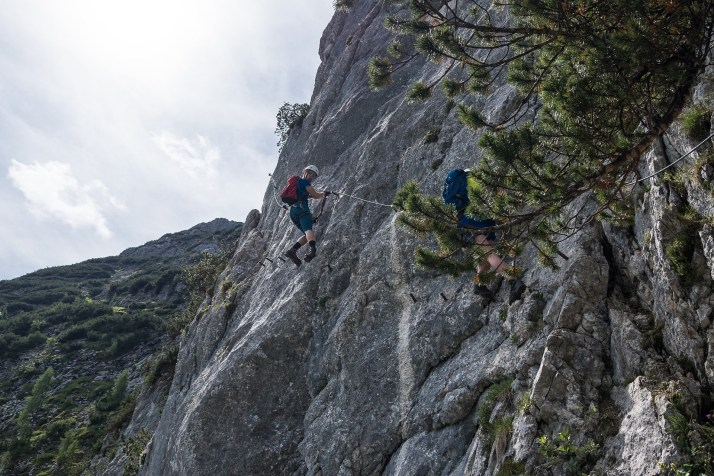 Trawers B/C, Intersport Klettersteig, Dachstein West