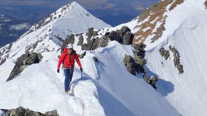 Zimowy kurs turystyki wysokogórskiej, wycieczka na Granaty