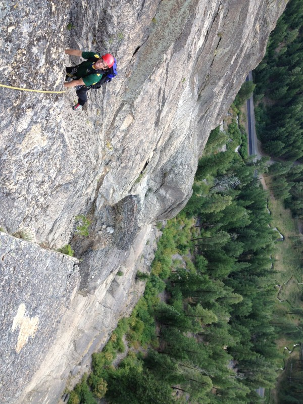 Linville Gorge Rock Climbing