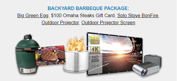 Backyard Barbeque Package