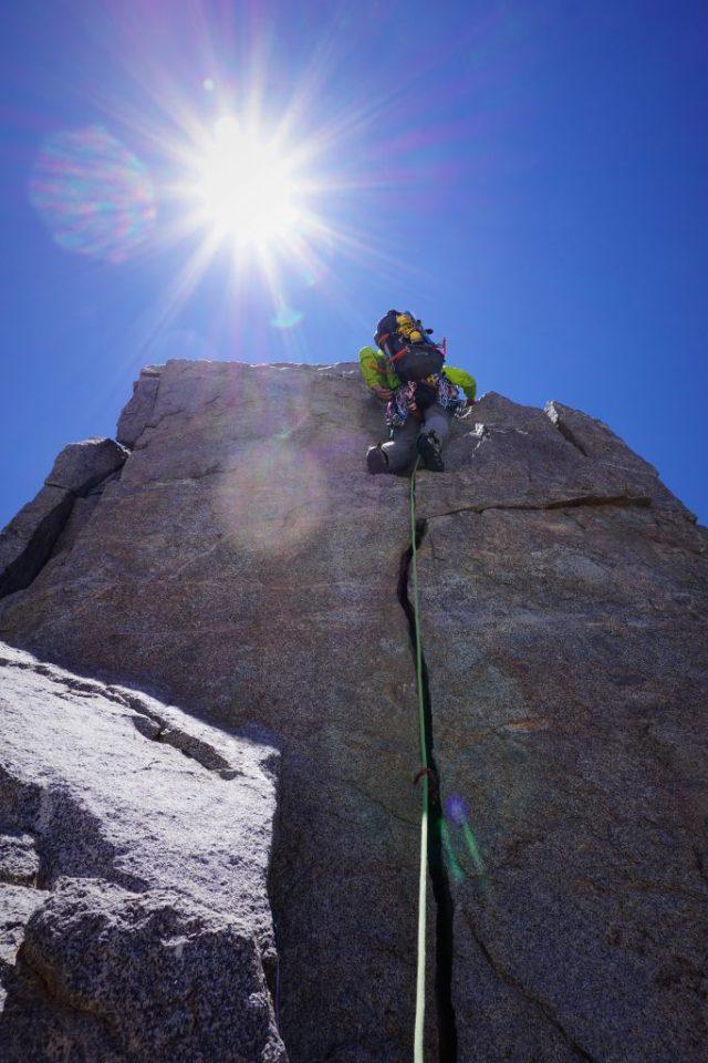 Temple Crag Crack