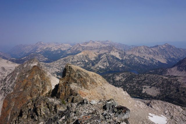 Snowyside Summit Views