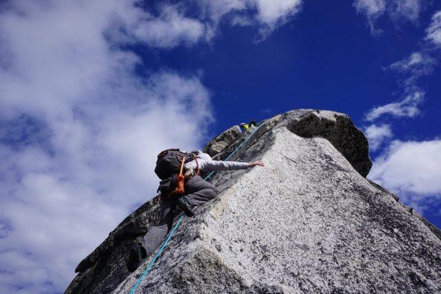 Prusik Peak Crux Slab