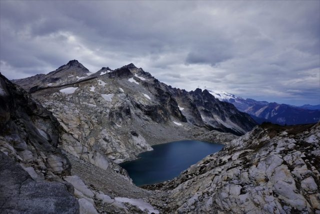 Traid Lake at High Pass