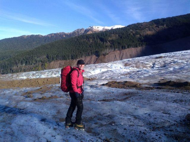 Lower Coleman Glacier
