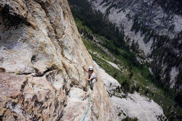 Charlotte Dome Climbing