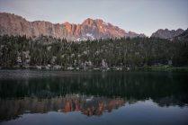 Flower Lake Sunset