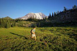 Mt. Adams Running