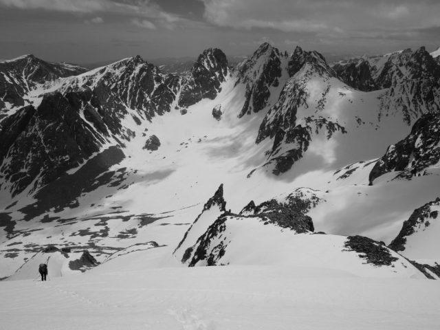 Dinwoody Glacier View