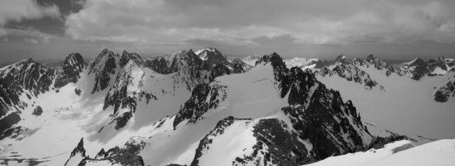 Gannet Summit Panorama