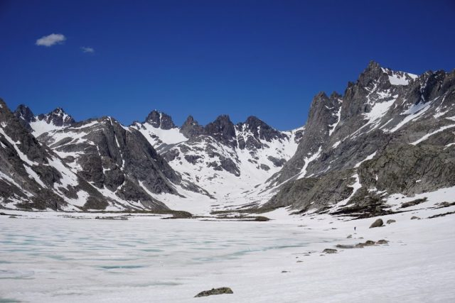 Titcomb Basin Lakes