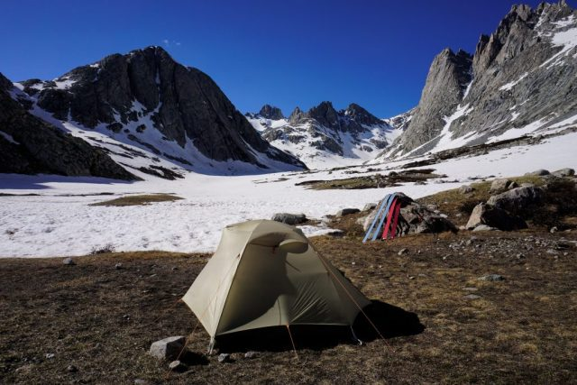 Titcomb Basin Camp