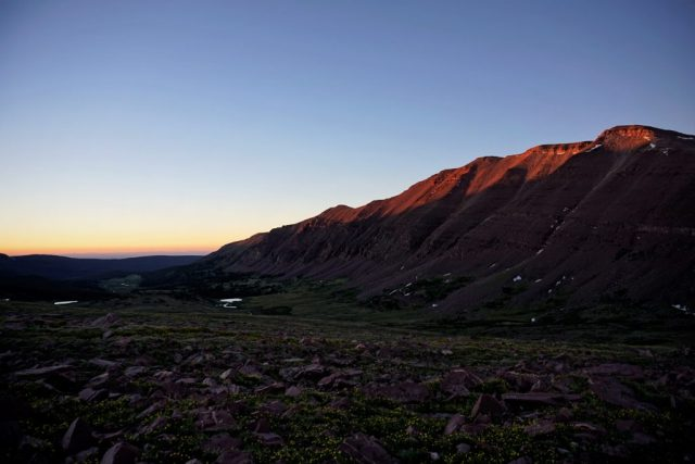 Mount Powell Sunset