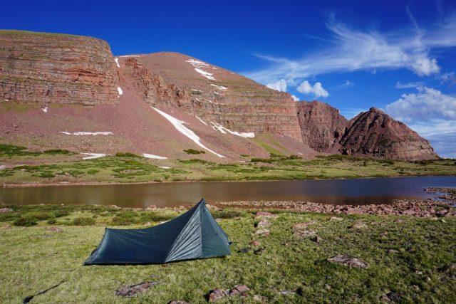 Smith's Fork Lake Camp