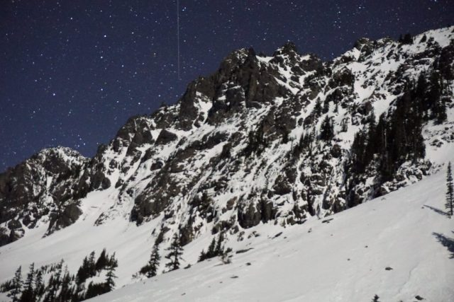 Chair Peak Night