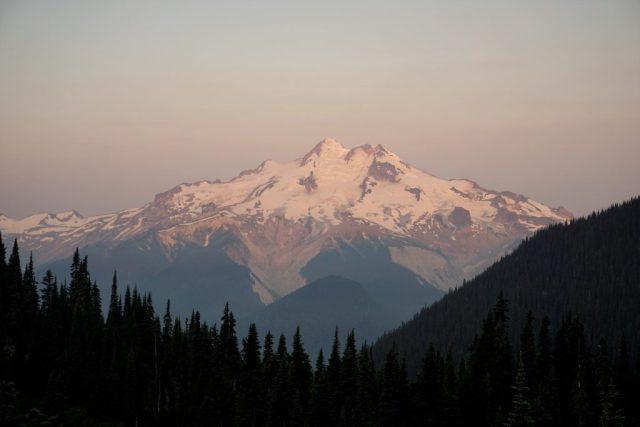 Glacier Peak Alpenglow